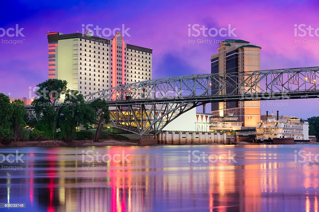 Shreveport, Louisiana Skyline stock photo