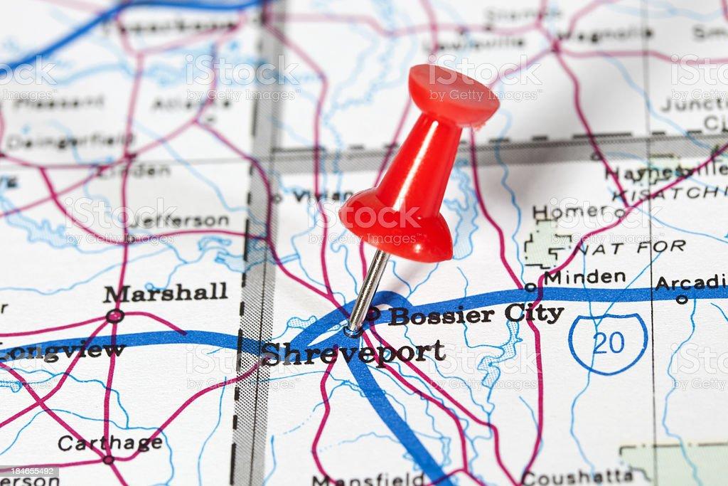 Shreveport, Louisiana, USA stock photo