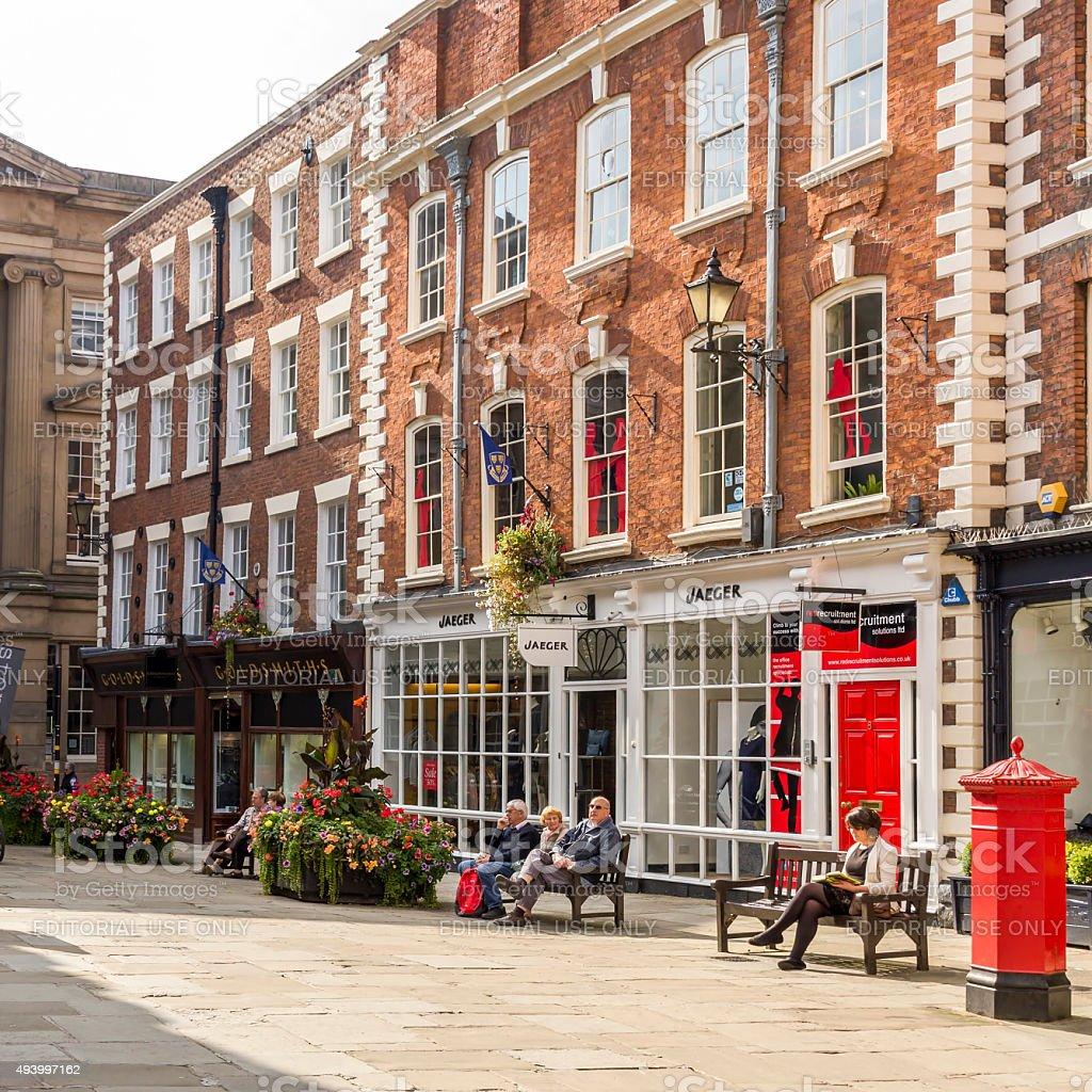 Shrewsbury Architecture stock photo