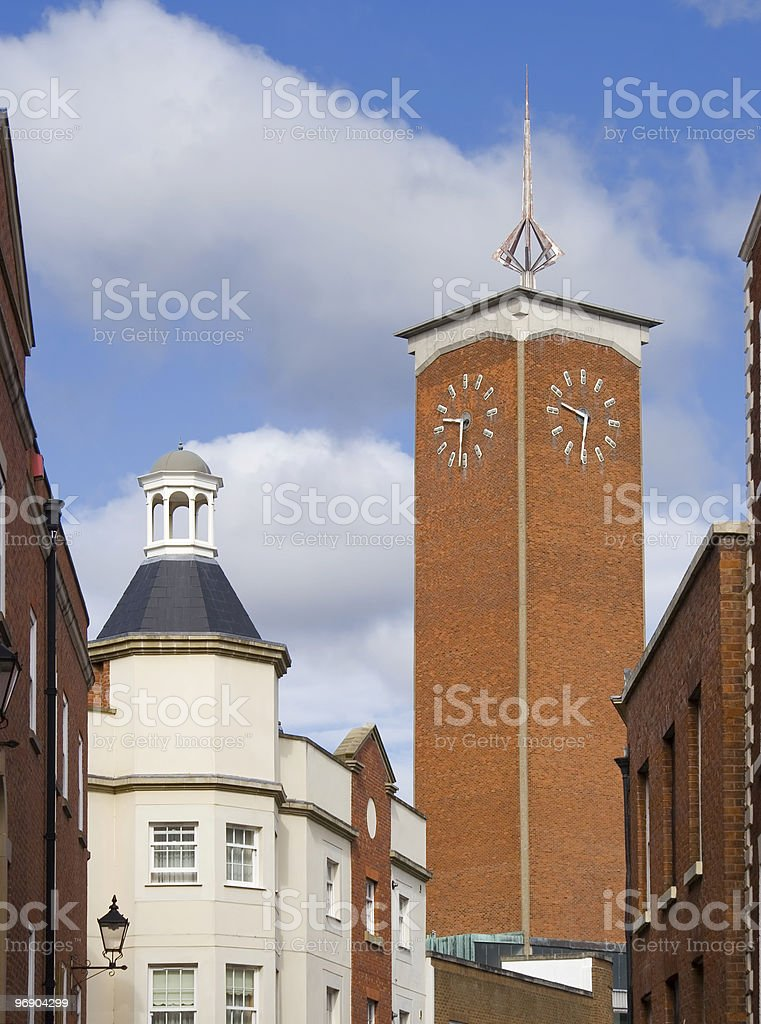 shrewsbury towers royalty-free stock photo