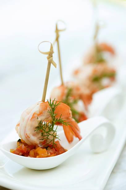 Crevettes Appertizer - Photo