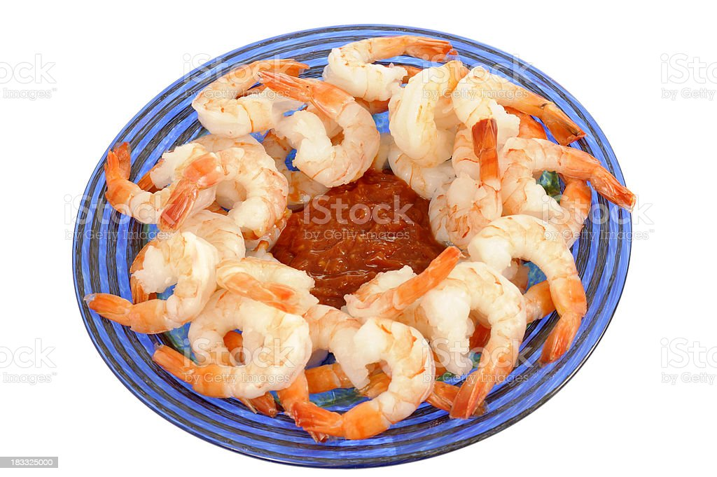 Shrimp Appetizer royalty-free stock photo