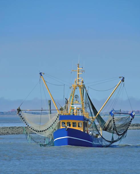 Garnelen Sie, Boot, deutschen Nordseeregion, Wattenmeer – Foto