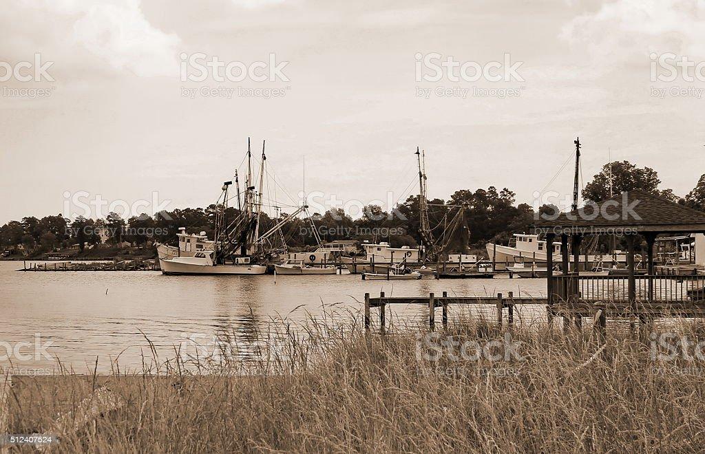 'Shrimp Boats Are a Comin' stock photo