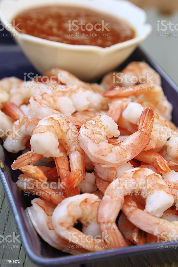 Shrimp Cocktail stock photo