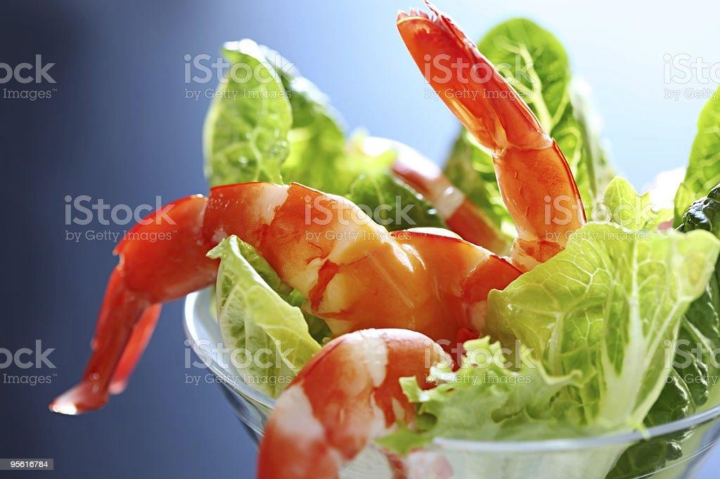 Shrimp Cocktail royalty-free stock photo