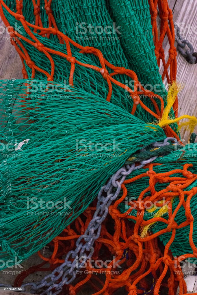 Shrimp Nets stock photo