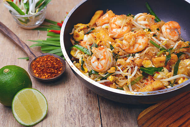 shrimp pad thai - Photo