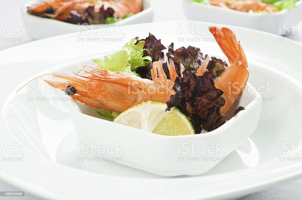 Shrimp Salad stock photo