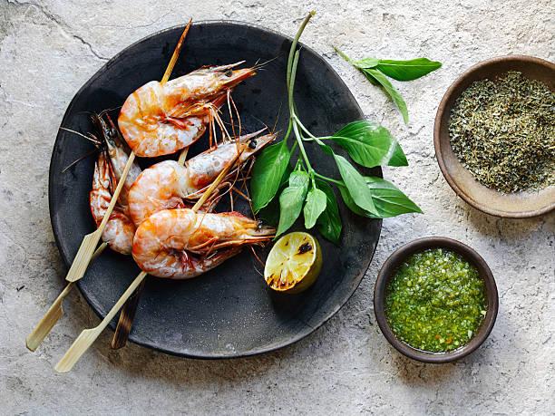 エビのソテー - タイ料理 ストックフォトと画像