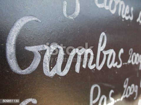 508216406 istock photo shrimp spanish menu 509851130