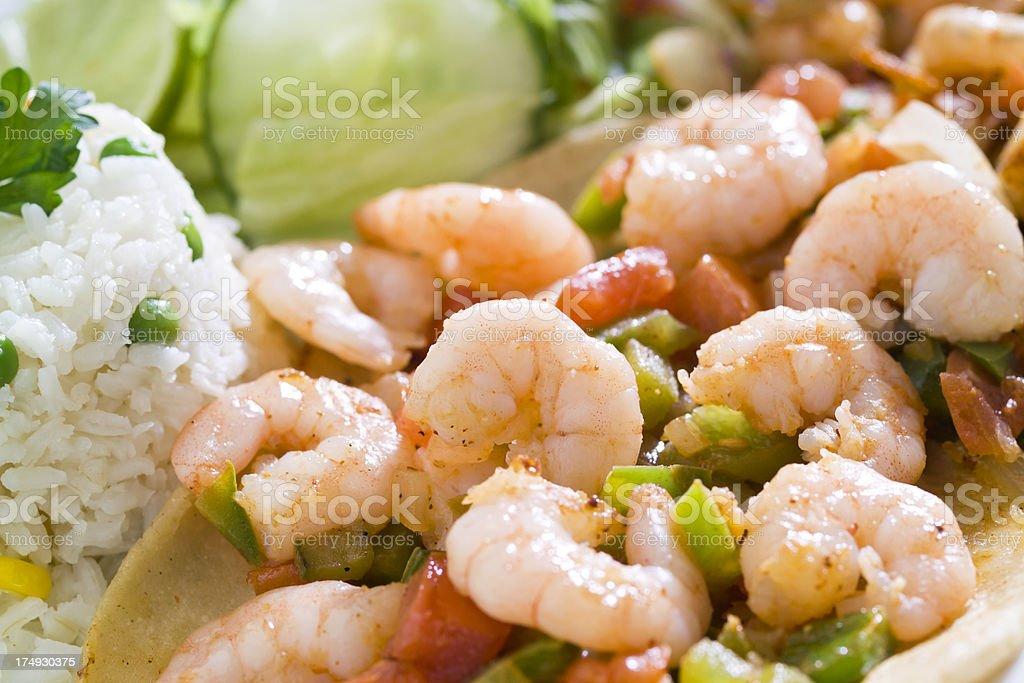 Shrimp Stew royalty-free stock photo