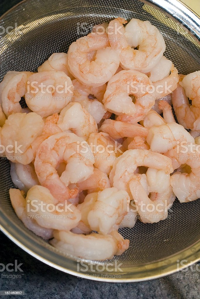 Shrimps series royalty-free stock photo