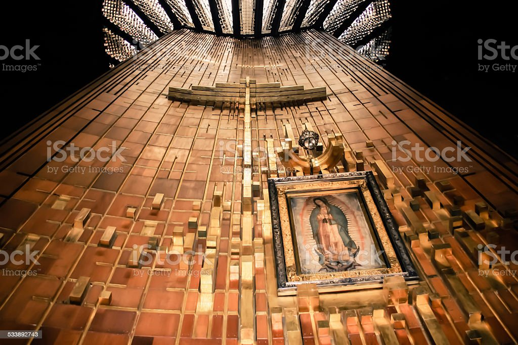 Shrine of Our Lady stock photo