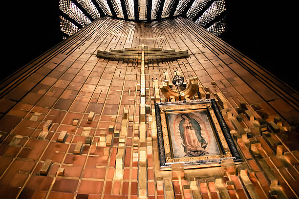 Shrine of Our Lady Image of Our Lady of Guadalupe Shrine basilica stock pictures, royalty-free photos & images