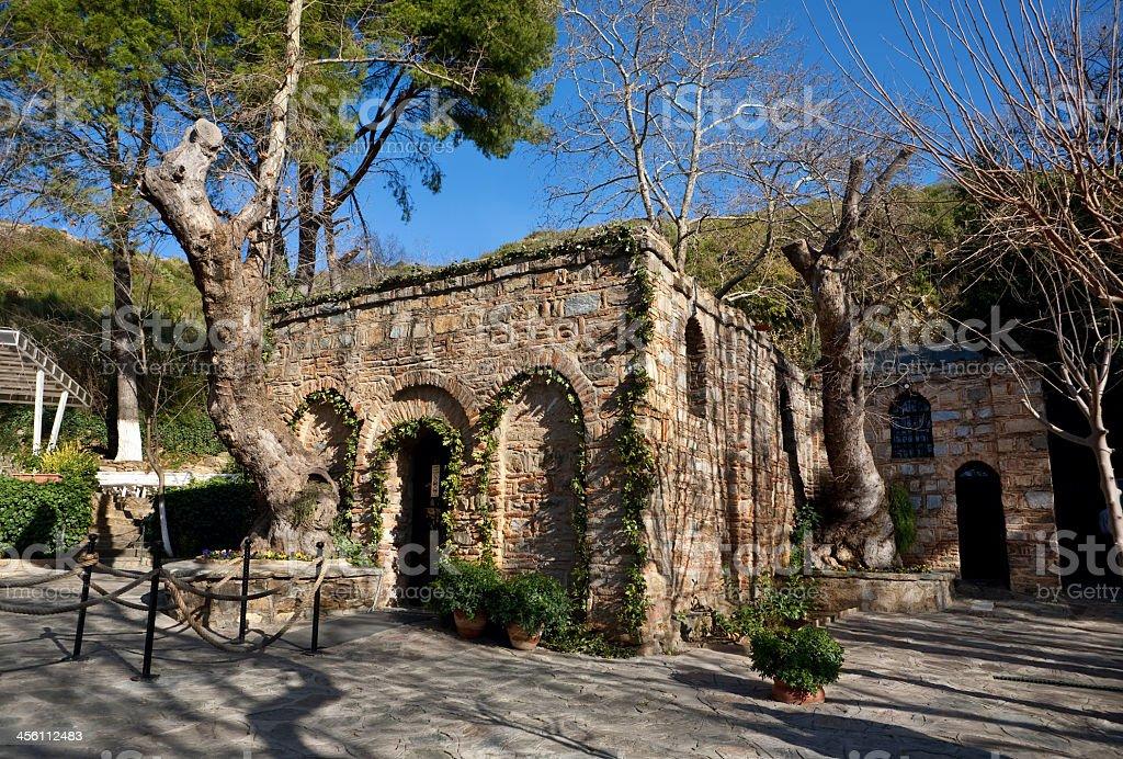 Shrine of Virgin Mary stock photo