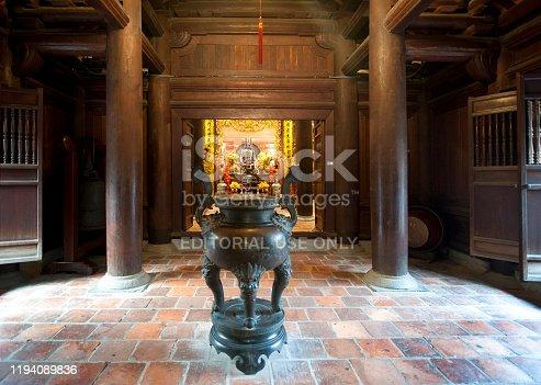 939399010 istock photo Shrine, Temple of Literature, Hanoi city centre, North Vietnam 1194089836