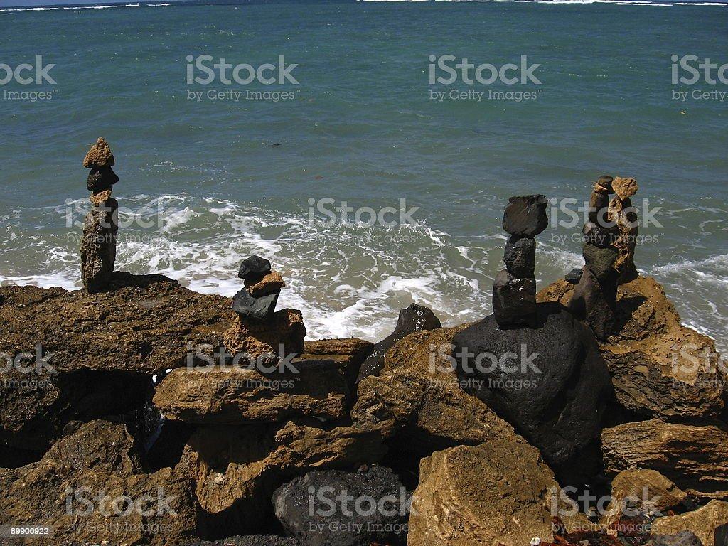 Shrines of Lava royalty-free stock photo
