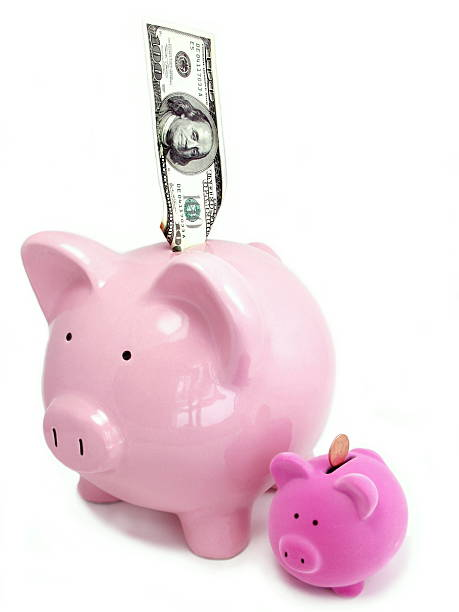 Shrinking Finances stock photo