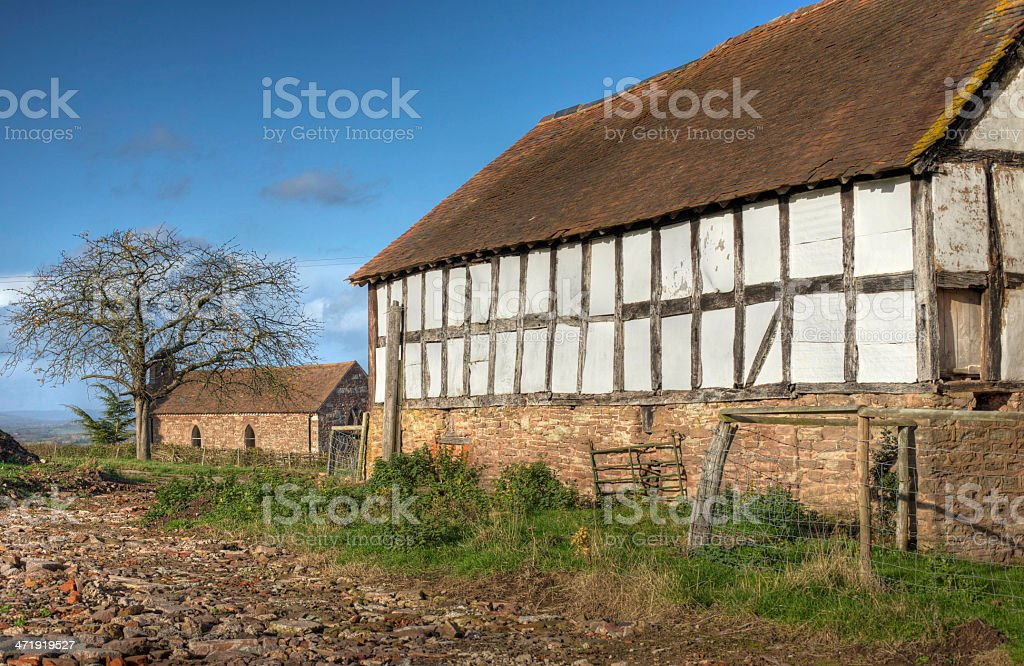 Shropshire barn stock photo