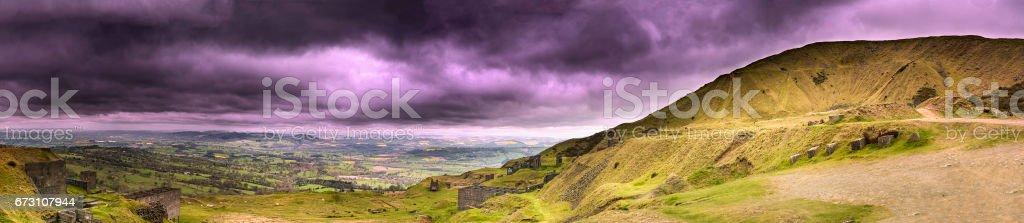 Shropshire countryside,England  stock photo