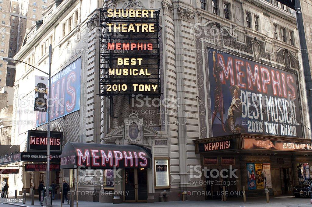 Shubert Theater stock photo
