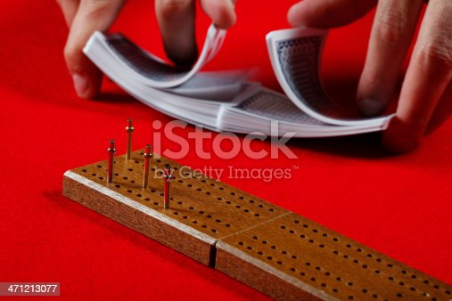 Shuffling for Cribbage