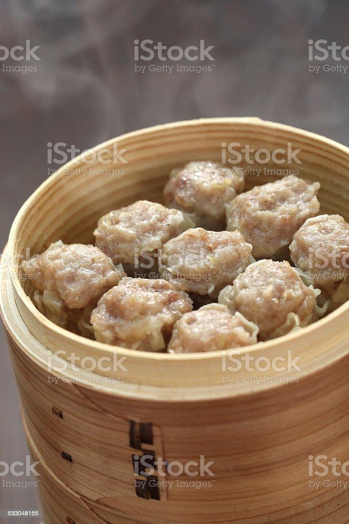 shumai, shaomai, chinese food stock photo