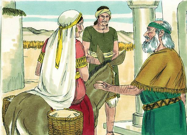 Shunammite Woman Seeks Elisha Stock Photo More Pictures Of Bible