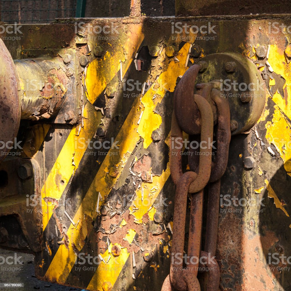 Shunter loco front detail. royalty-free stock photo