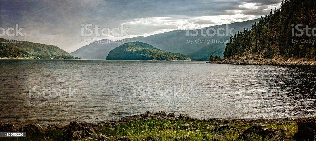Shuswap Lake stock photo