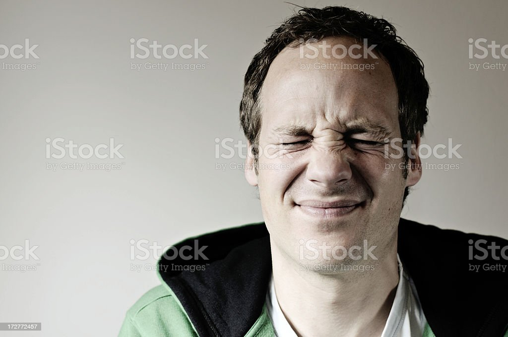 shut tight man... royalty-free stock photo