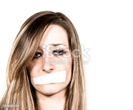 istock Shut up 157403123