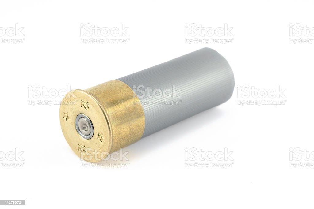 Shutgun Bullet stock photo