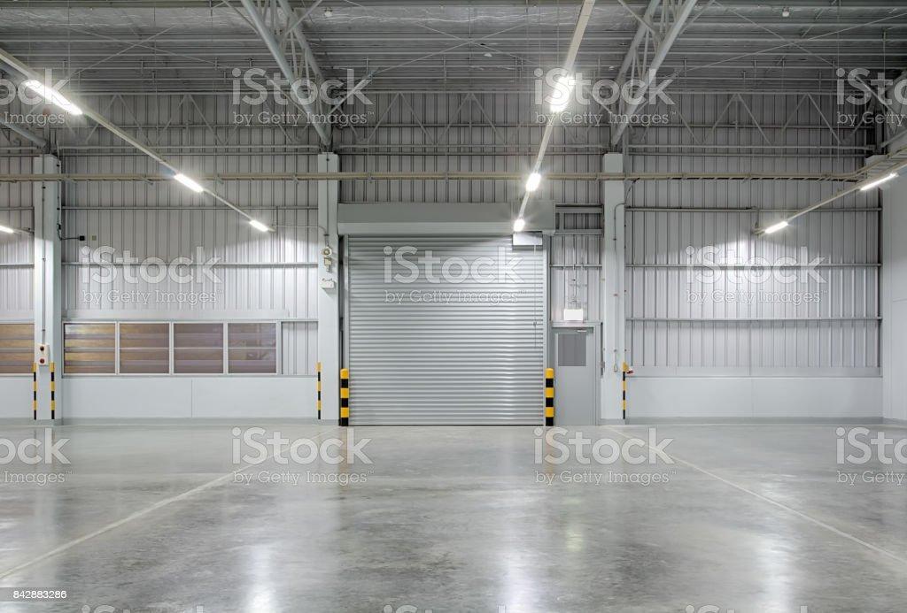 셔터 도어 공장 - 로열티 프리 0명 스톡 사진