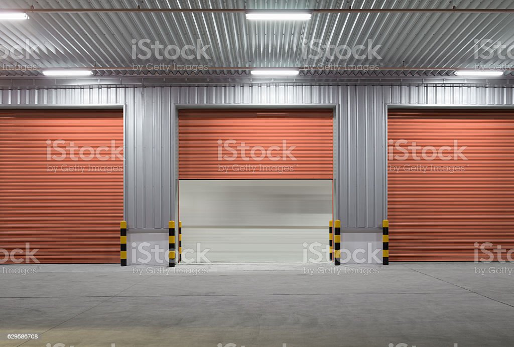 ... Shutter door night stock photo ... & Shutter Door Pictures Images and Stock Photos - iStock pezcame.com