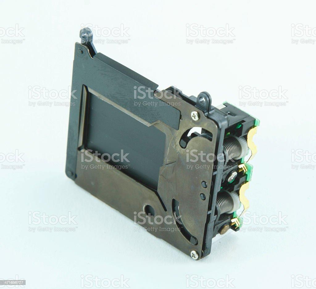 shutter of camera royalty-free stock photo