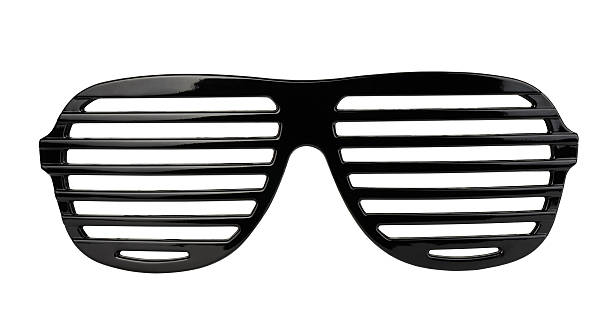 Shutter shades stock photo