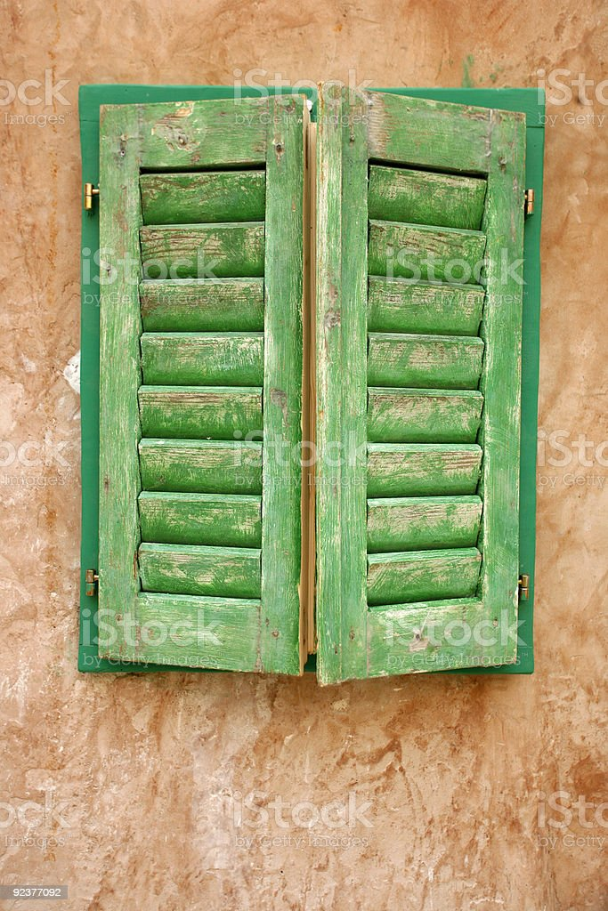 shutters royalty-free stock photo
