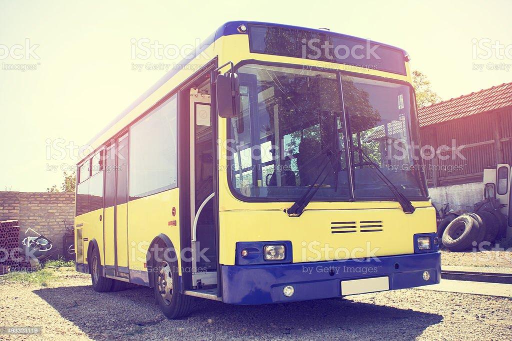 Shuttle Bus stock photo