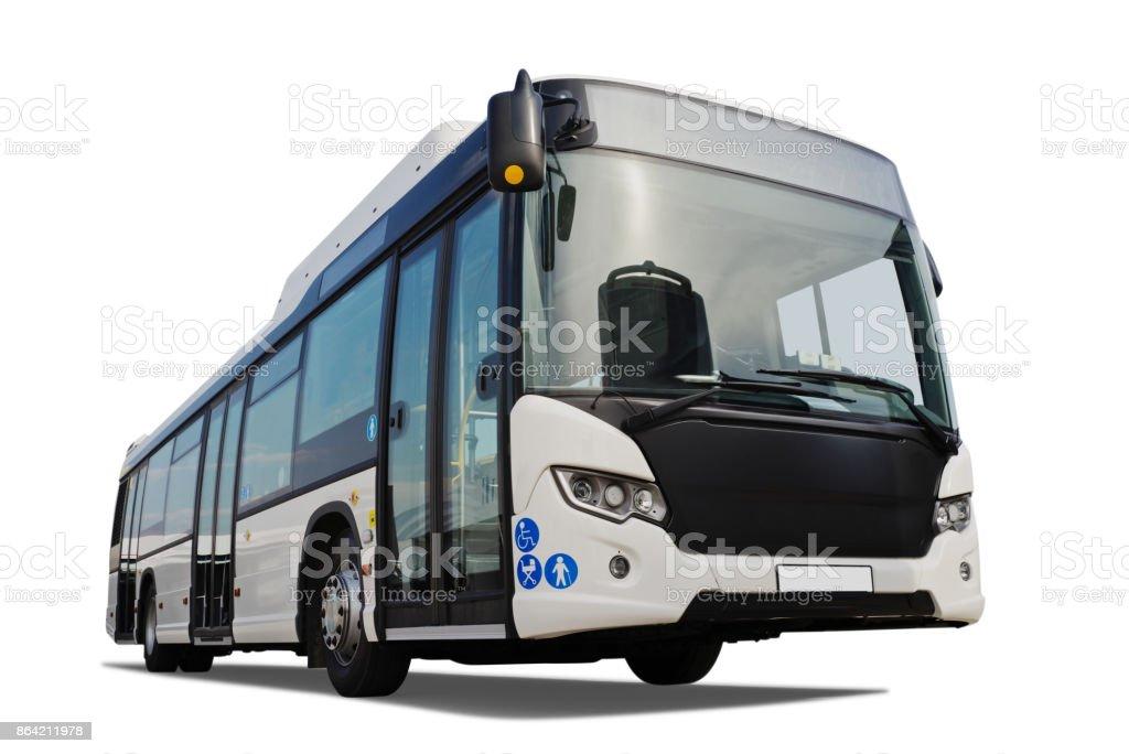 Shuttle Bus royalty-free stock photo