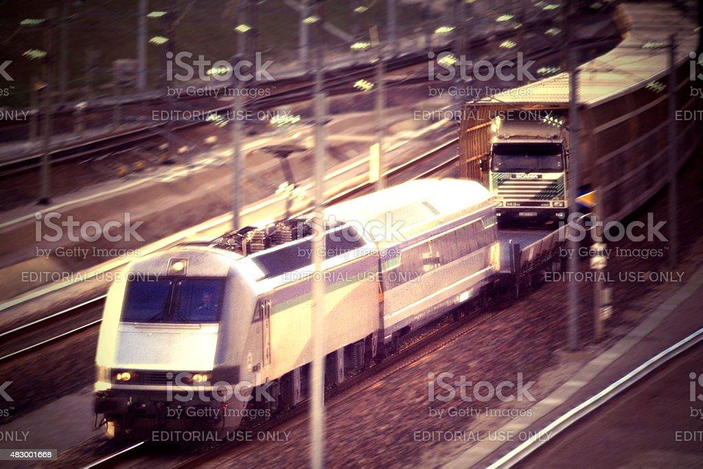 shuttle stock photo