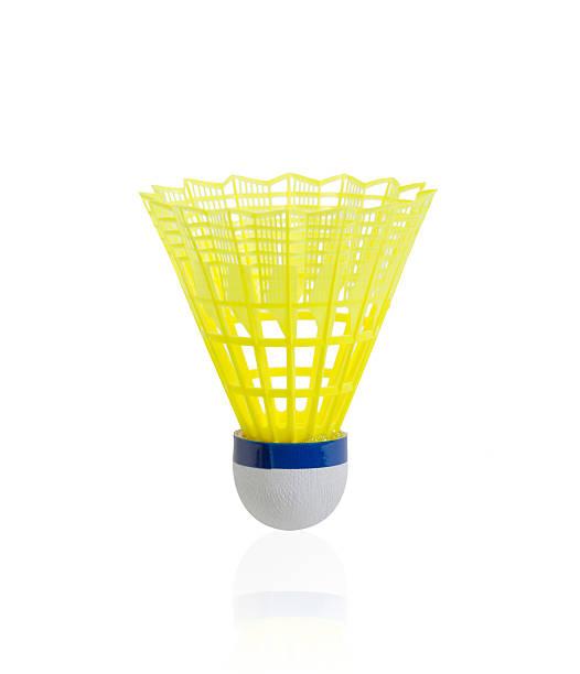 Volant de badminton isolé sur fond blanc - Photo