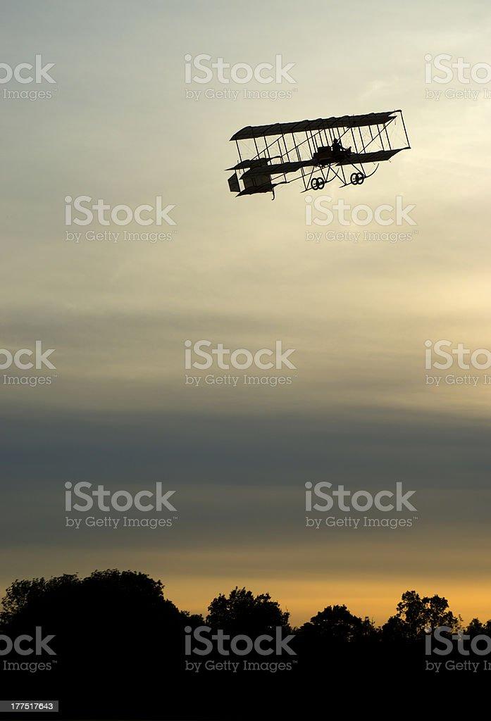 Shuttleworth Sunset royalty-free stock photo