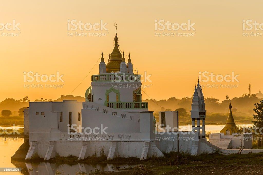 Shwe Modeptaw Pagoda stock photo