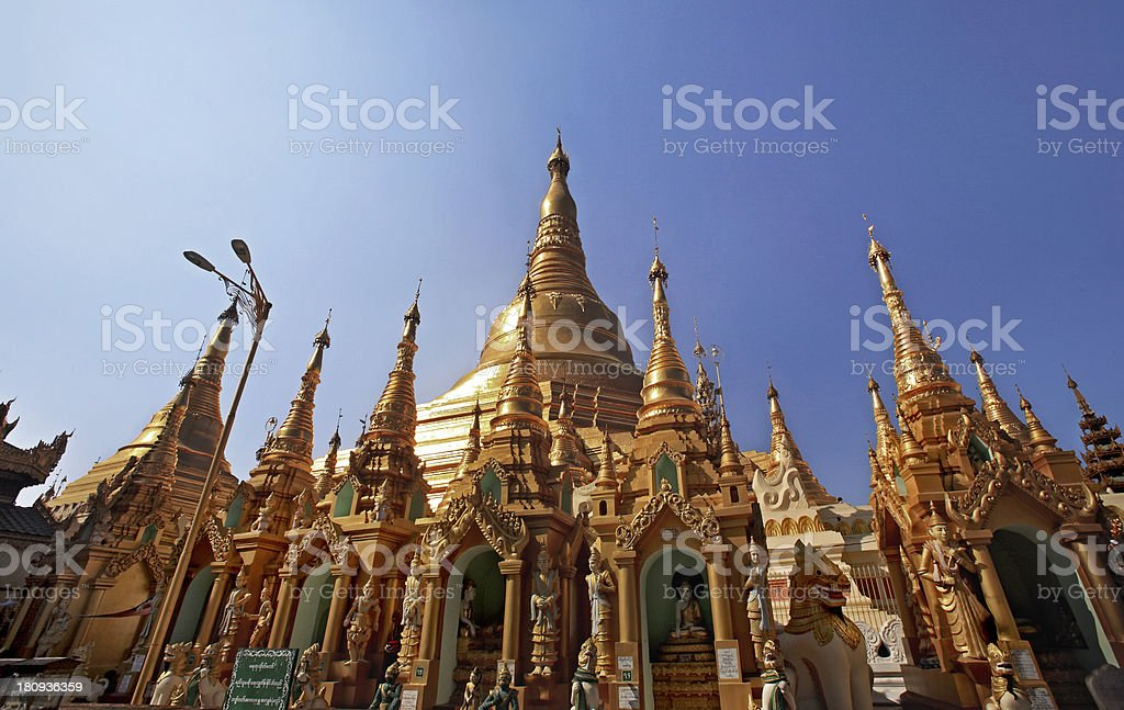 Shwedagon Pagoda , myanmar royalty-free stock photo