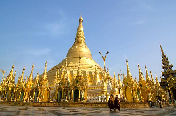 Shwedagon Paya in Rangun, Myanmar – Foto
