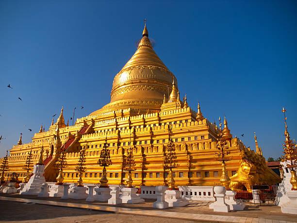 Shwezigon Pagode, Bagan – Foto