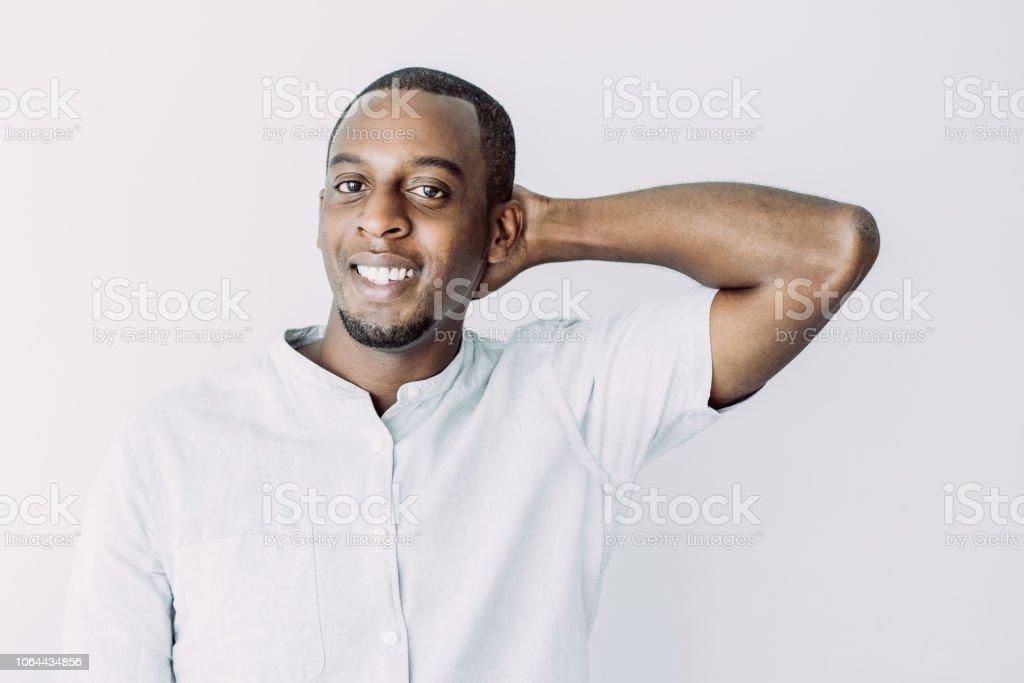 Ein schüchterner Mann