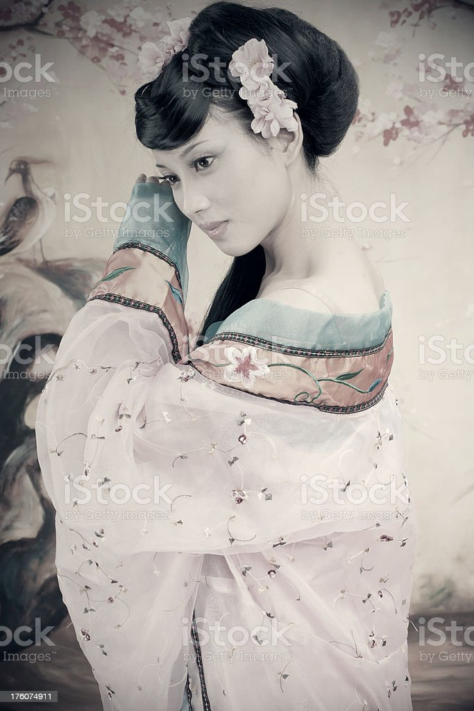 Shy Women royalty-free stock photo